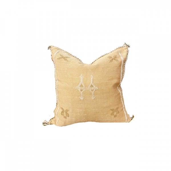Ochre Yellow Sabra Pillow