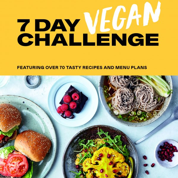7 Day Vegan Challenge Book