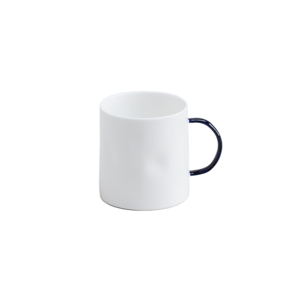 Cobalt Coffee Mugs, Set of 6