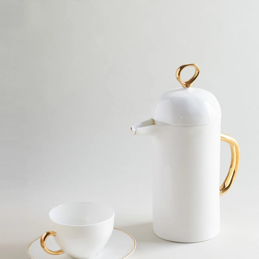 Gold Cafetiere