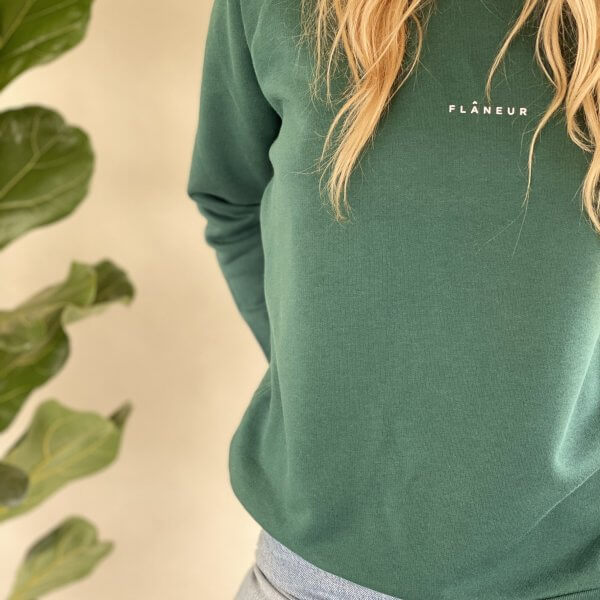 Flâneur Green Sweatshirt