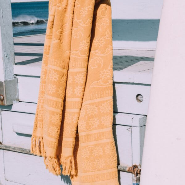 Saffron Beach Towel Le Surfrider