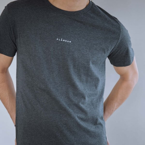 Flâneur Grey T-shirt