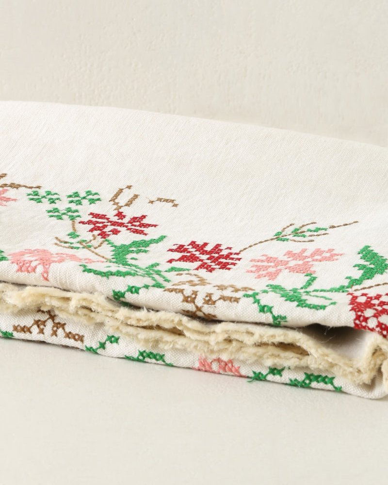 Classic Embroidered Table Cloth