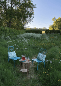 How to host an intimate outdoor dining experience for 6 at home