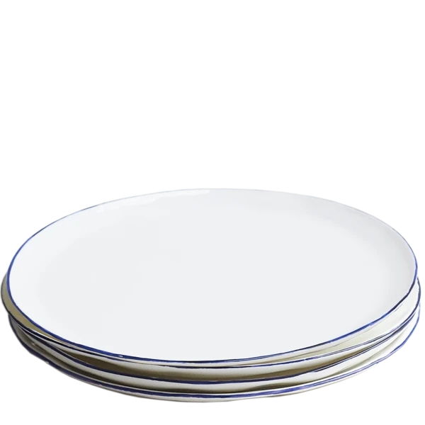 Cobalt Dinner Plates, Set of 6