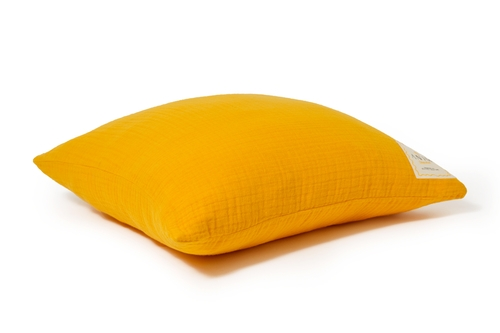 Sweet Yellow Fluffy Cotton Cushion