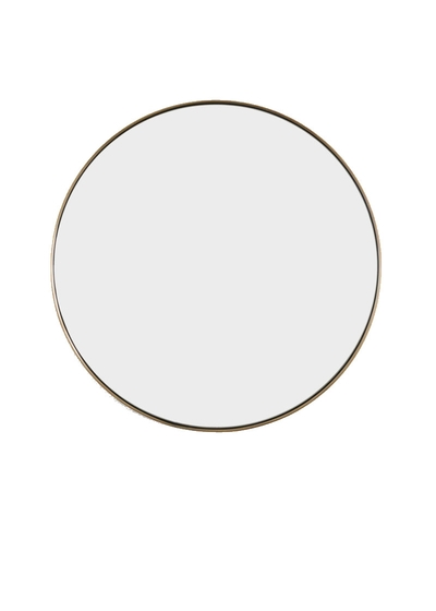 Tall Béatrice Mirror in Aged Brass