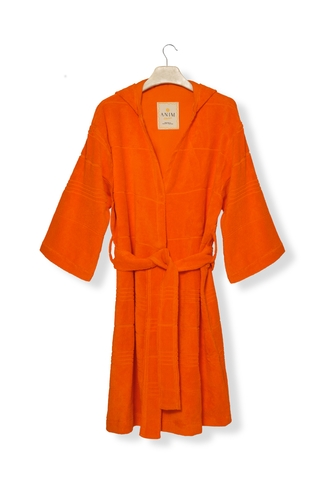 Sunrise Orange Mini Terry Robe