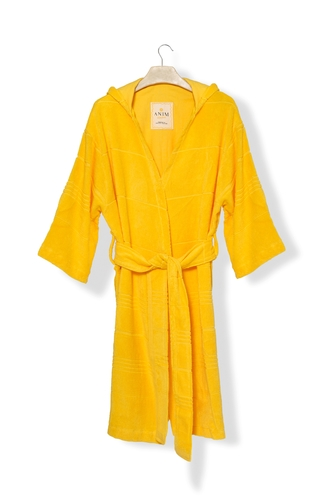 Sweet Yellow Mini Terry Robe