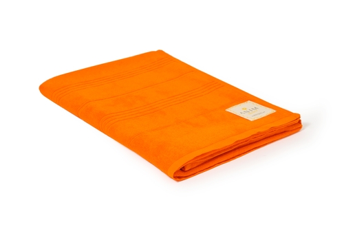Sunrise Orange Terry Towel