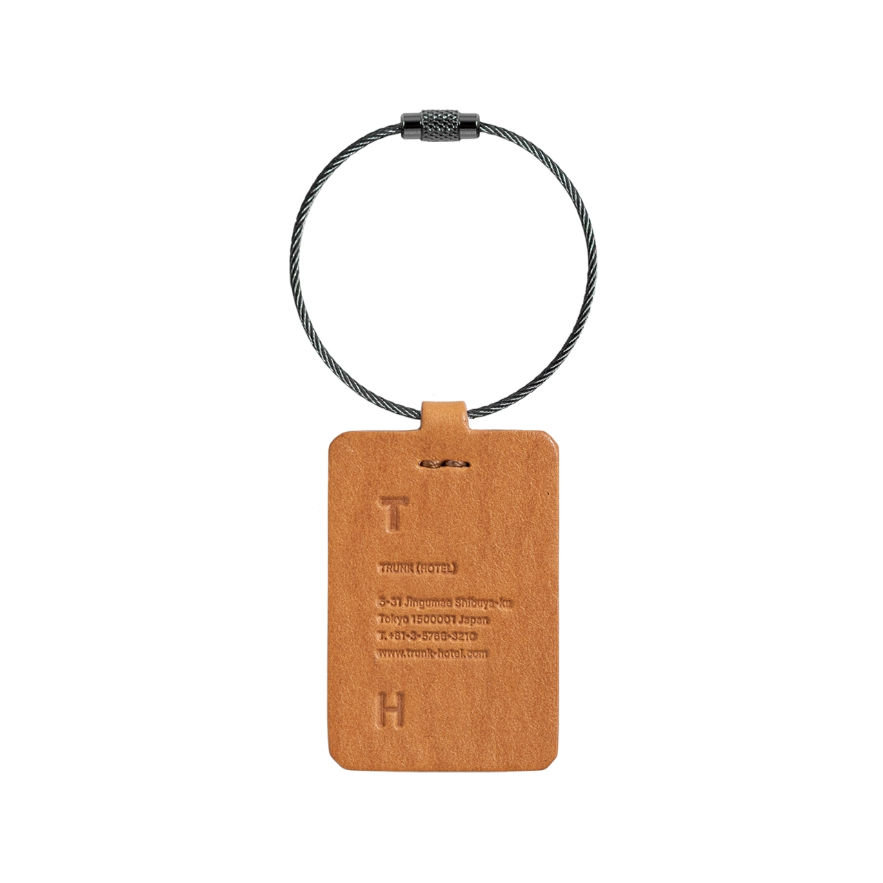 Upcycled Leather Key Chain