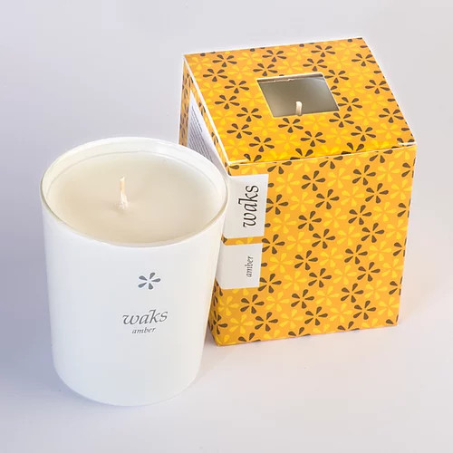 Amber Scented Candle