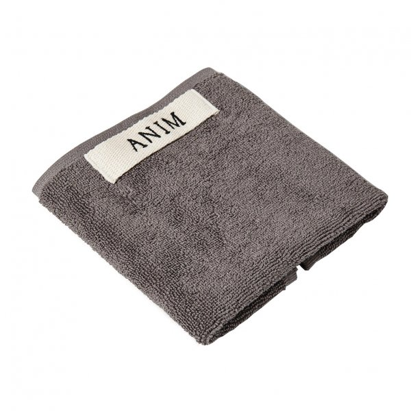 Anthracite Terry Hand Towel