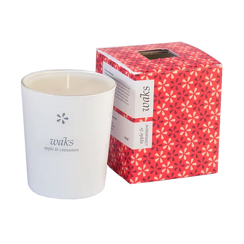 Apple & Cinnamon Scented Candle