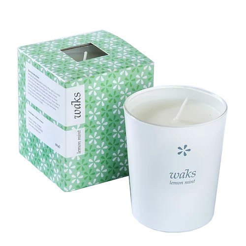 Lemon & Mint Scented Candle