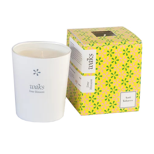 Lime Blossom Scented Candle