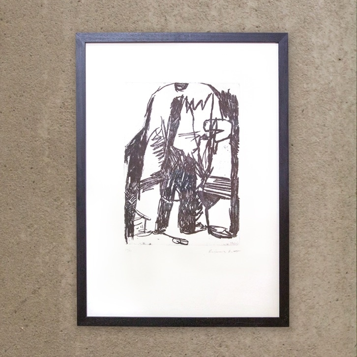 Limited Edition Etching by Benjamin Brett