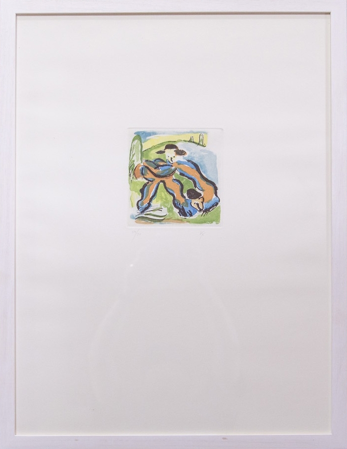 Limited Edition Etching by Kate Groobey