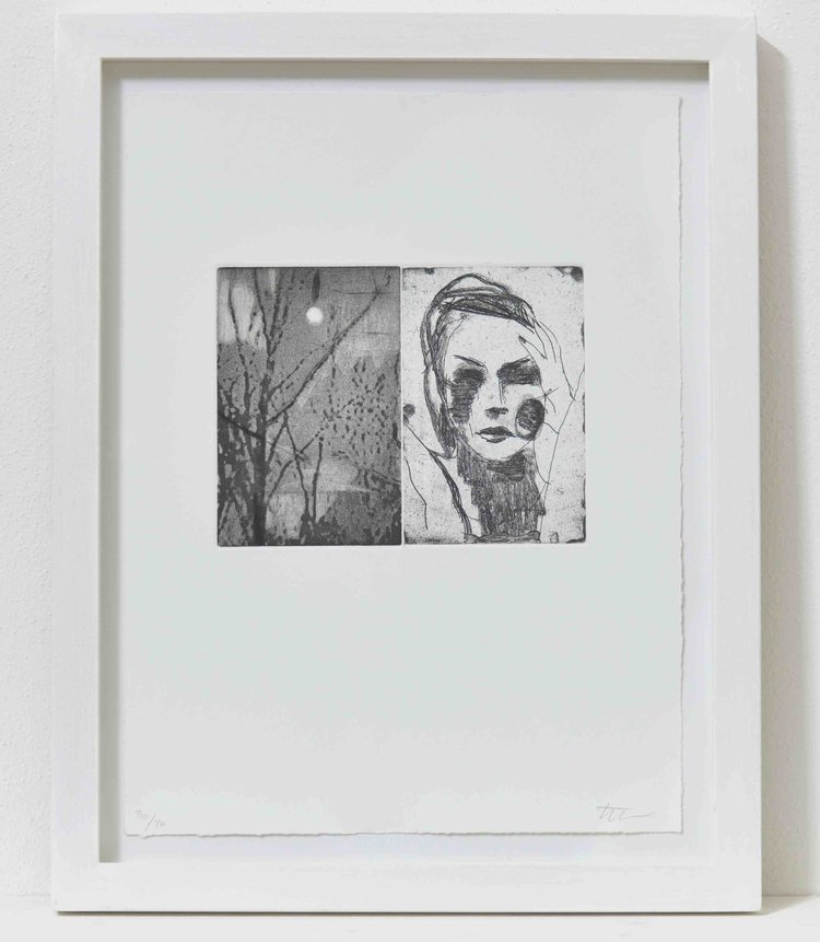 Limited Edition Etching by Kon Trubkovic