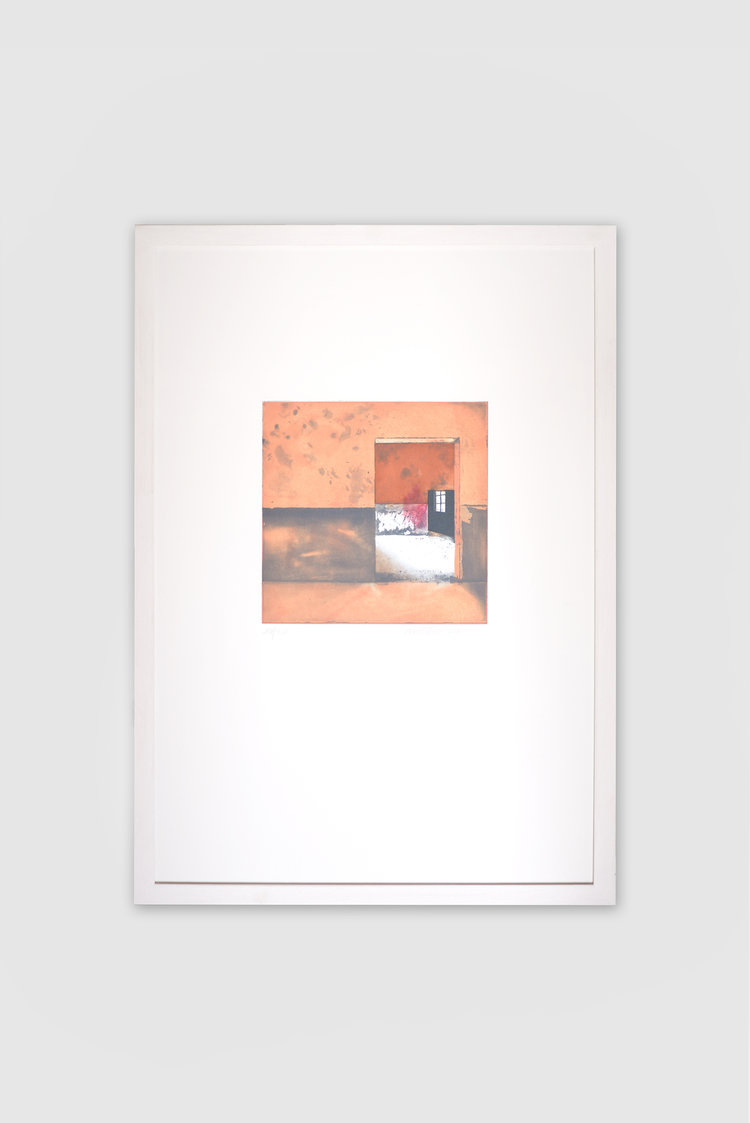Limited Edition Etching by Moataz Nasr