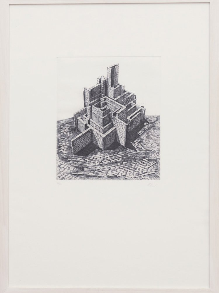 Limited Edition Etching by Nika Neelova