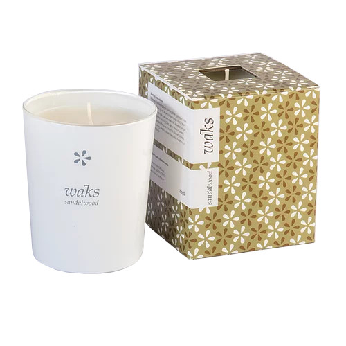 Sandalwood Scented Candle