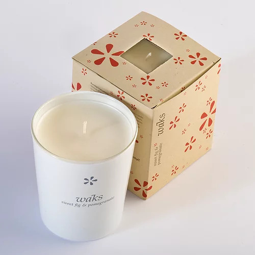 Sweet Fig & Pomegranate Scented Candle