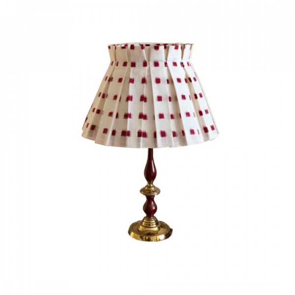 Cherry Squares Lampshade