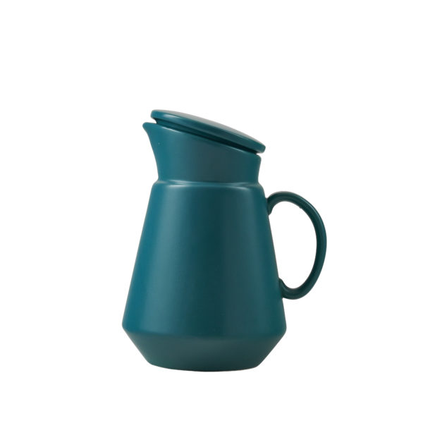 Matt Green Ceramic Coffee Jug