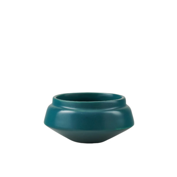 Matt Green Ceramic Condiment Pot