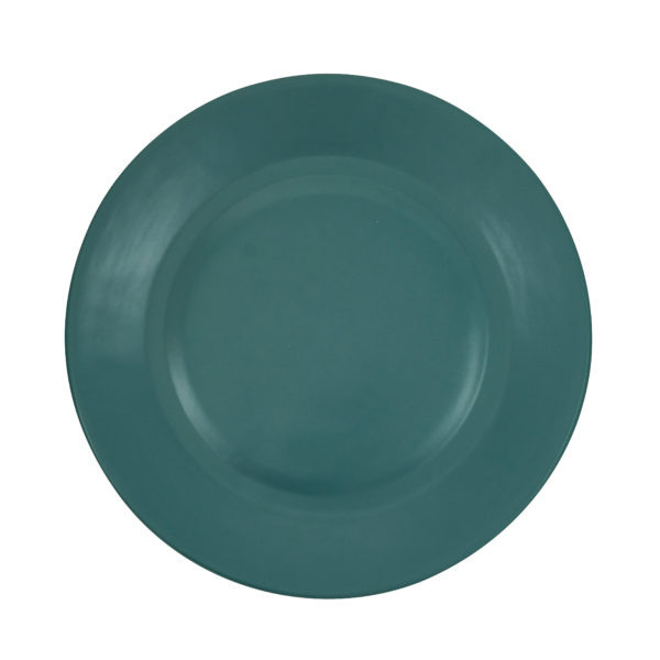 Matt Green Ceramic Dinner Plate
