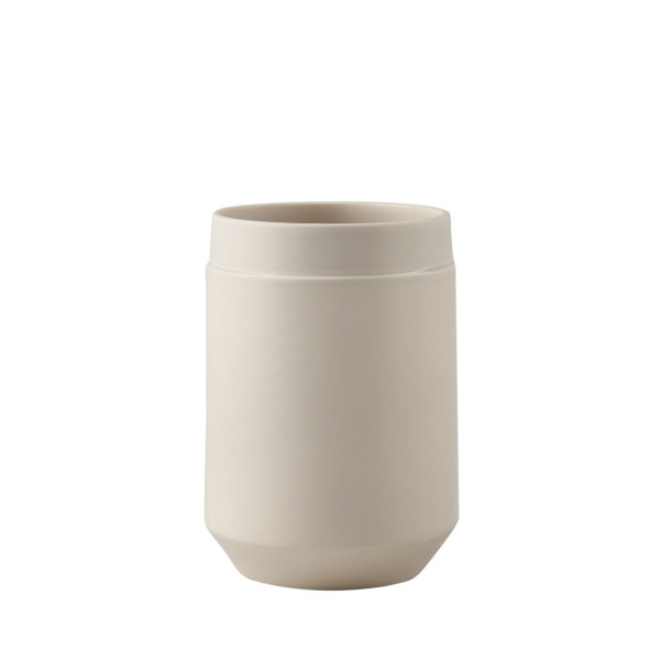 Matt Grey Big Vase