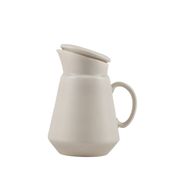 Matt Grey Ceramic Coffee Jug