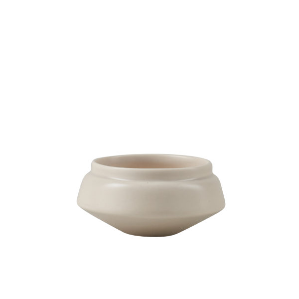 Matt Grey Ceramic Condiment Pot