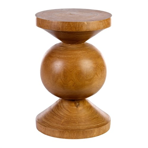 Wood Ball Stool