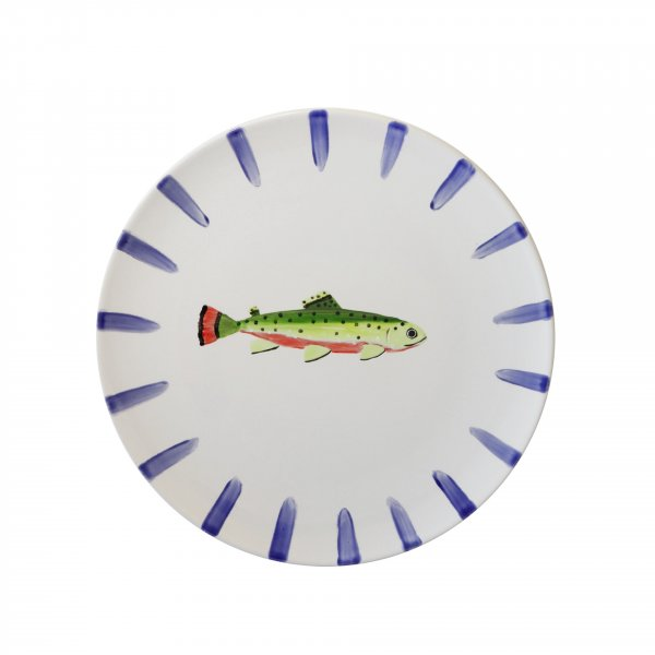 Handpainted Fish Plate 1