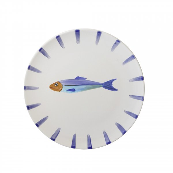 Handpainted Fish Plate 2