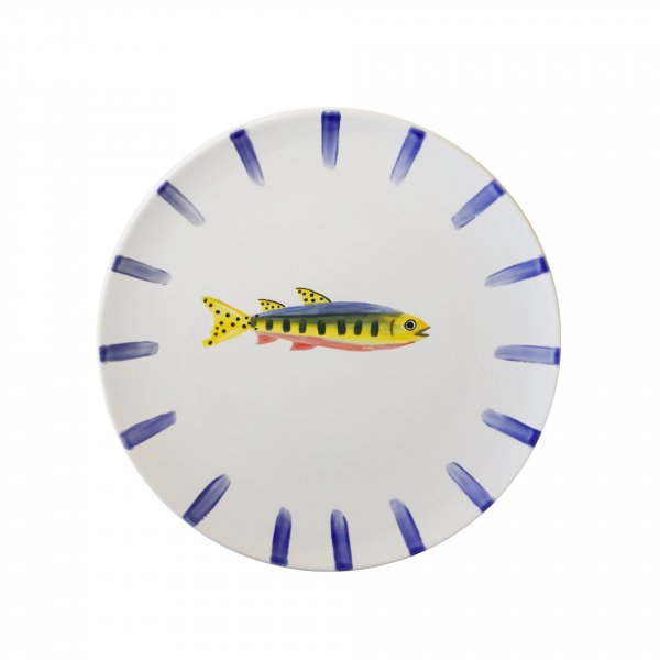 Private: Handpainted Fish Plate 3