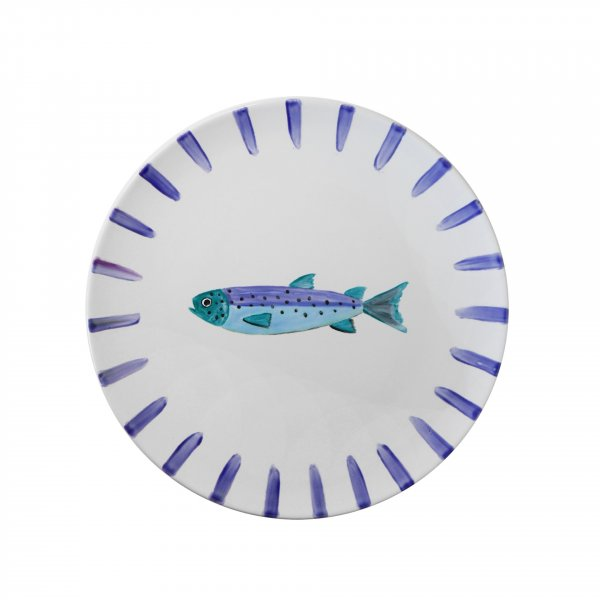 Private: Handpainted Fish Plate 4