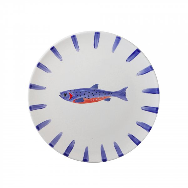 Private: Handpainted Fish Plate 5