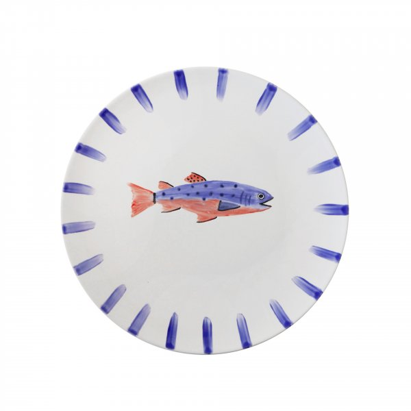 Handpainted Fish Plate 6