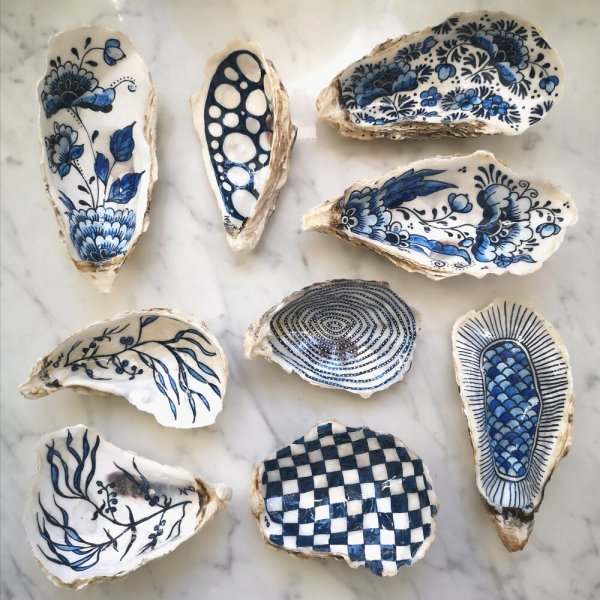Private: Hand Painted Shells