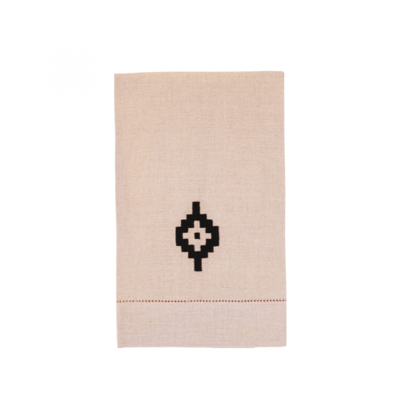 Pampa Linen Guest Towel – Natural
