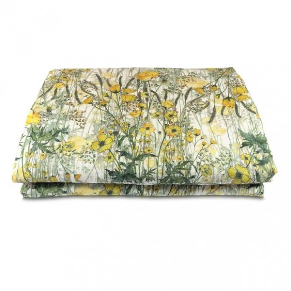 Buttercup Linen Table Cloth