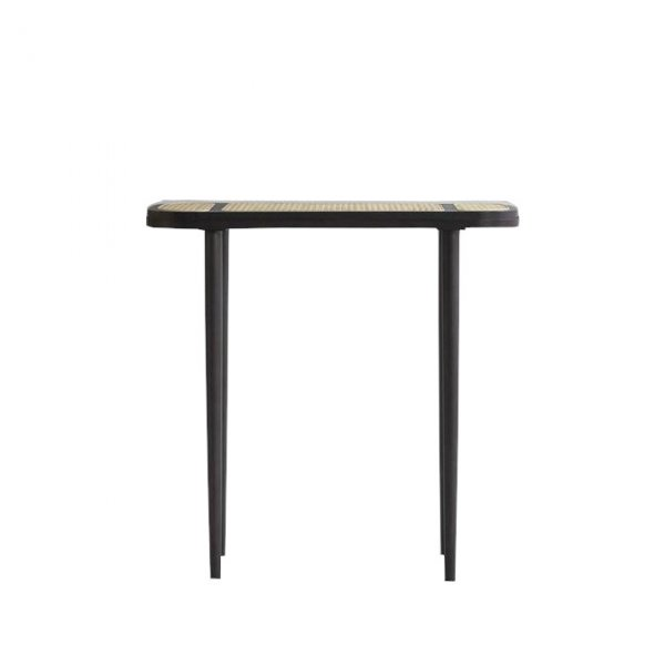Hako Console Table – Burned Black