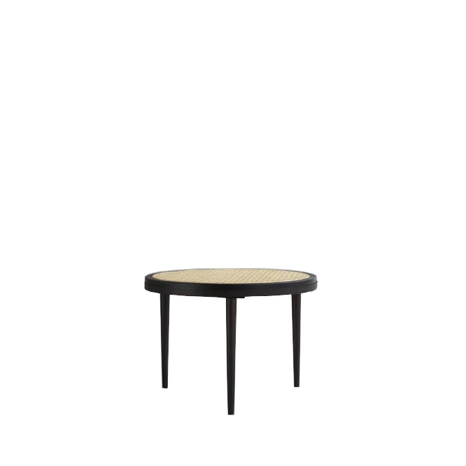 Hako Table, Low – Burned Black
