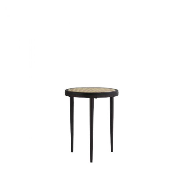 Hako Table, Tall – Burned Black