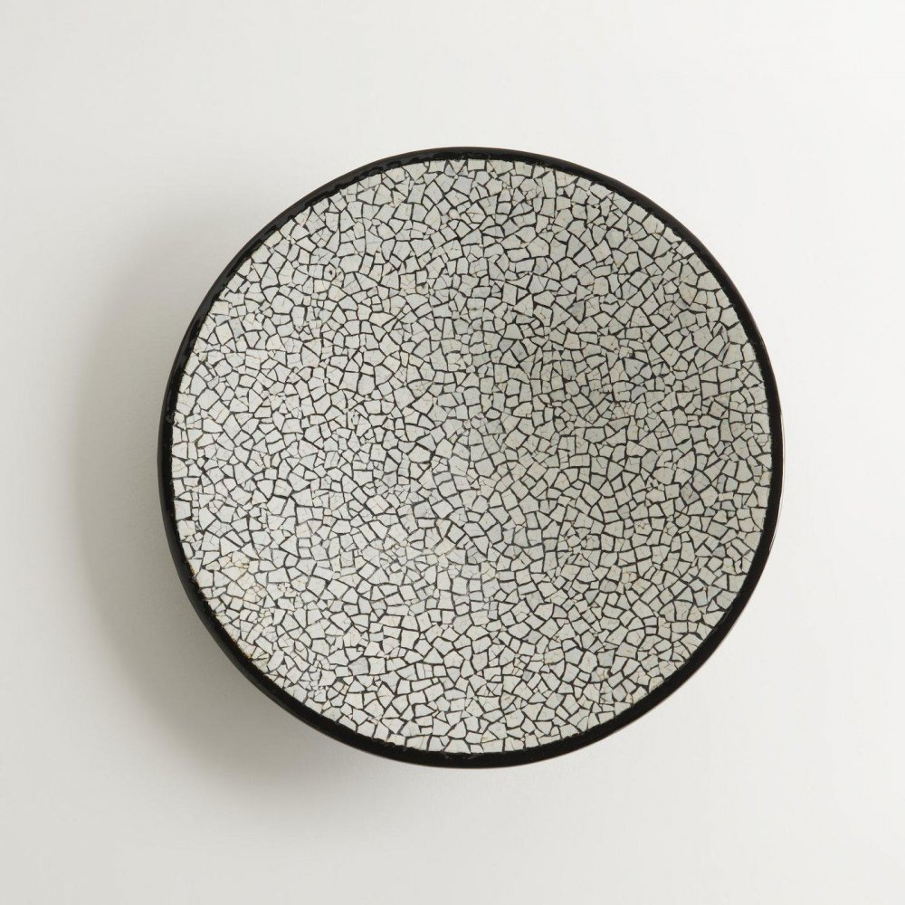 Lacquer & Eggshell Bowl | Shattered | Small