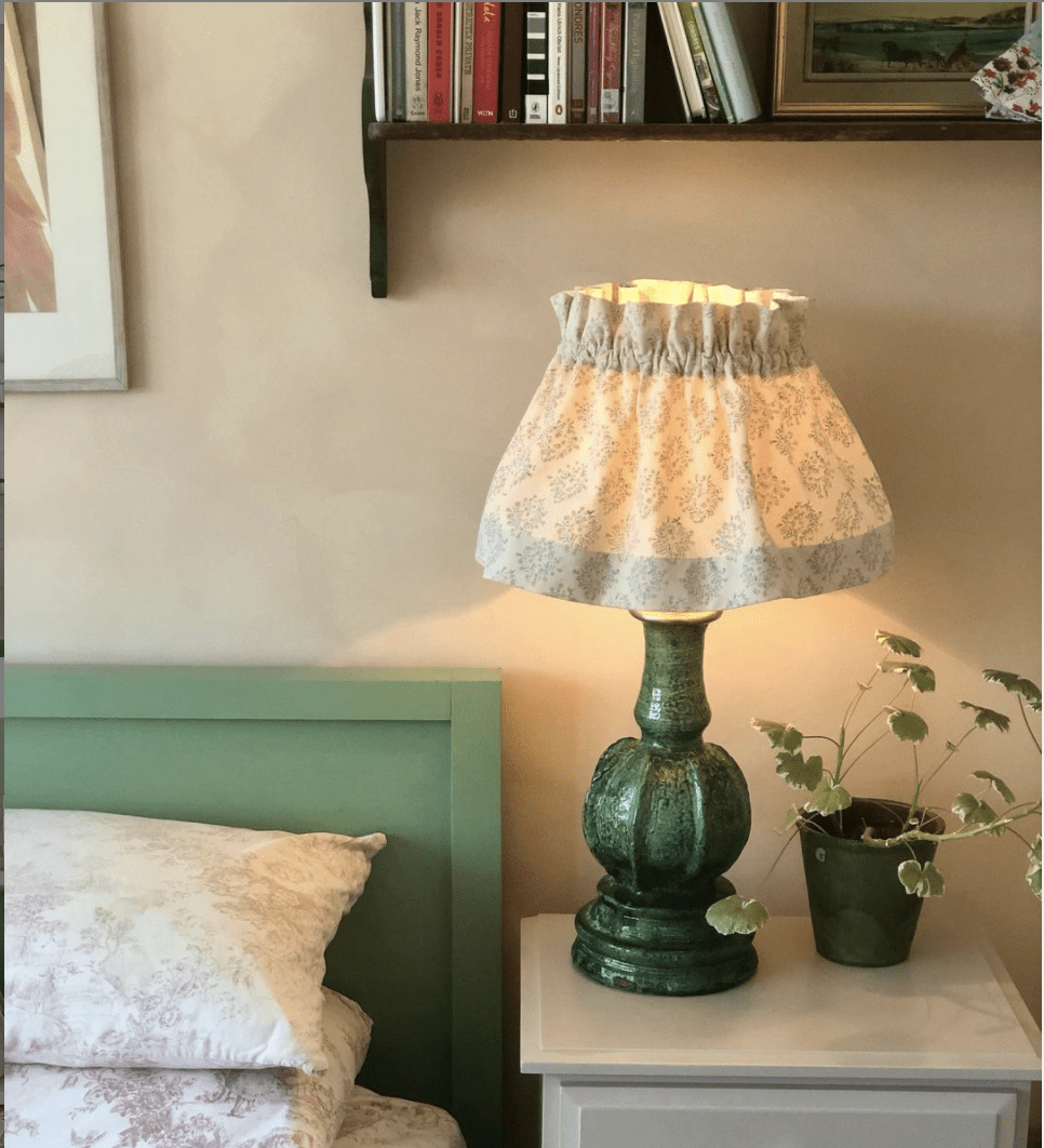 Floral Posy Scrunchie Lampshade